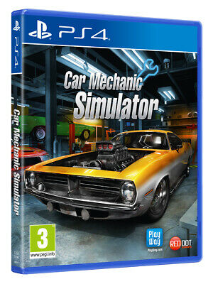 Car Mechanic Simulator (PS4) BRAND NEW AND SEALED - IN STOCK - QUICK DISPATCH