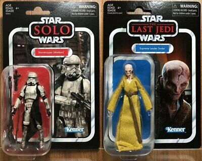 Kenner NEW Seale Star wars vintage collection le dernier Jedi Leader Suprême snoke