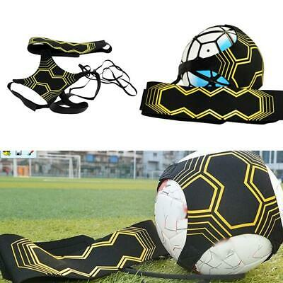 Adjustable Football Kick Trainer Soccer Ball Train Equipment Practice Belt UK