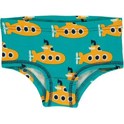 Aw19 Maxomorra Classic Submarines Hipster Briefs Organic Cotton Scandi Knickers