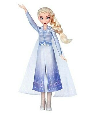 Disney Frozen 2 Exclusive Singing Elsa Musical Fashion Doll with Blue Dress