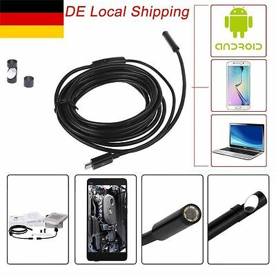 USB Endoskop 15M Inspektion Kamera Rohrkamera LED  Endoscope Wasserdicht Kanal