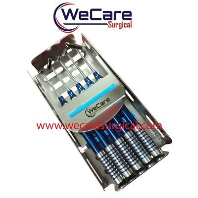 Soft Brushing Kit Dental Implant Lingual Flaps PRF Set of 5 With Cassette
