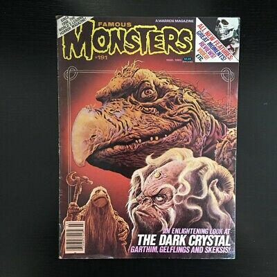 Famous Monsters - Issue 191 - 1983 - The Dark Cystal Xtro