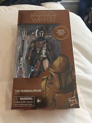 "Hasbro Star Wars Black Series The Mandalorian Carbonized 6"" Action Figure"