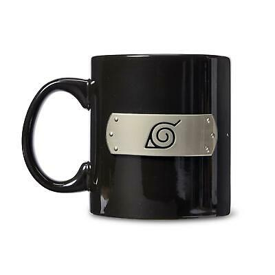 Naruto: Shippuden Hidden Leaf Village Pewter Emblem Coffee Mug | Holds 20 Ounces