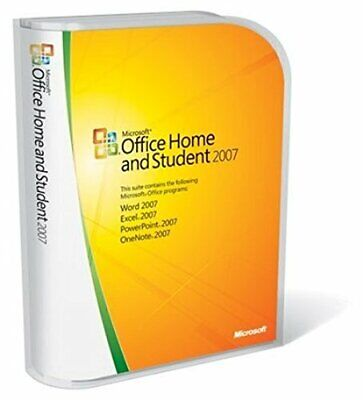 Microsoft Office 2007 Home & Student w/ Product Key Code