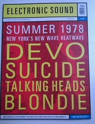 Electronic Sound Issue 44 Magazine 1978 - Devo Suicide Blondie Talking Heads