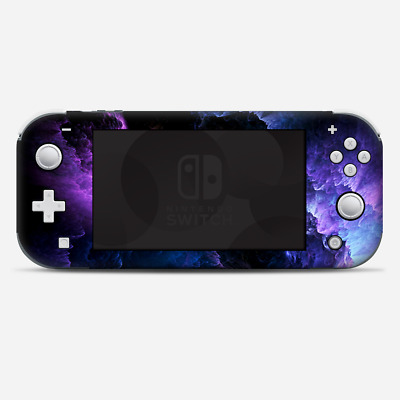 Skins Decals wrap for Nintendo Switch Lite - purple storm clouds