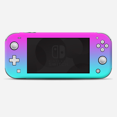 Skins Decals wrap for Nintendo Switch Lite - hombre pink purple teal gradient