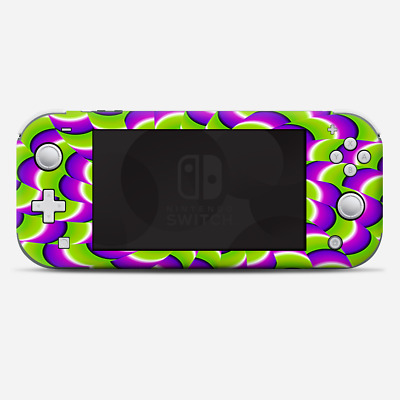 Skins Decals wrap for Nintendo Switch Lite - Trippy Psychedelic Motion swirl