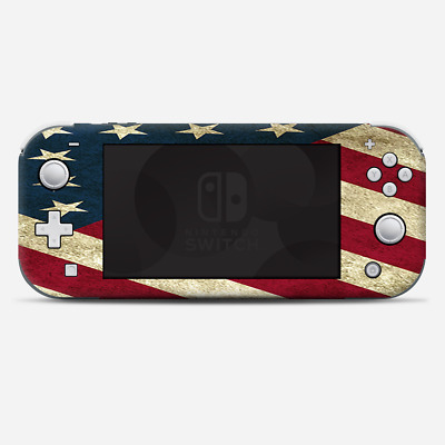 Skins Decals wrap for Nintendo Switch Lite - Merica Flag Pattern