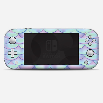 Skins Decals wrap for Nintendo Switch Lite - mermaid scales blue pink