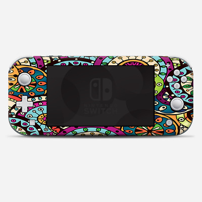 Skins Decals wrap for Nintendo Switch Lite - Ethnic Circles Pattern