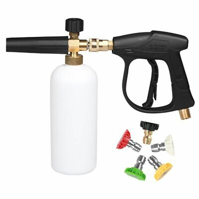 Foam Cannon Pressure Washer Jet Wash Snow Foam Lance with 1/4'' Quick Connector