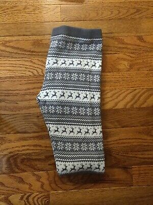 The Childrens Place Girls Christmas leggings size Large 10/12