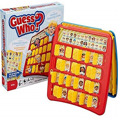 Guess Who? Classic Grid Board Family party  Fun Game School Camping 2 Players