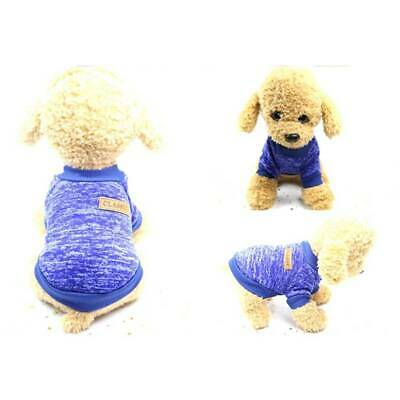 Pet Coat Dog Jacket Spring Clothes Puppy Cat Sweater Coat Clothing Apparel AU
