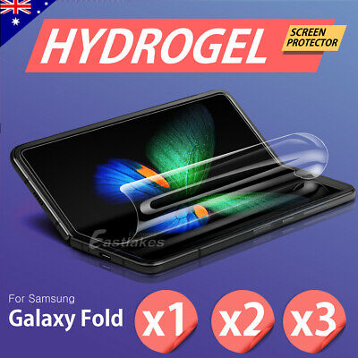 Samsung Galaxy Fold HYDROGEL AQUA FLEXIBLE Soft Crystal Front Screen Protector