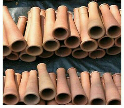 Clay Chillam Chillum Indian Traditional Hookah Smoking Pipe Pipes Terracotta X 4
