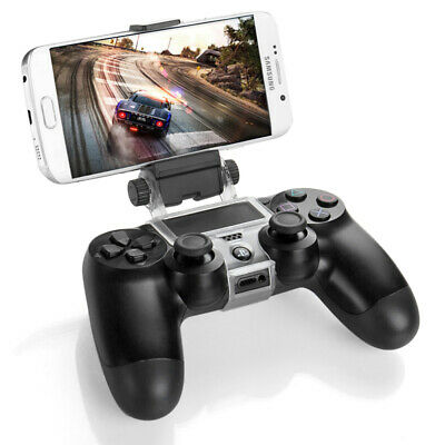 PS4 Controller Phone Clip Holder Clamp Mount Bracket for Sony PlayStation 4