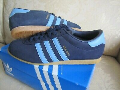 Adidas REKORD 42,5 BLAU Wildleder NEU! Equipmend Torsion Retro Vintage