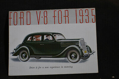 The Ford V8 for 1935 Brochure