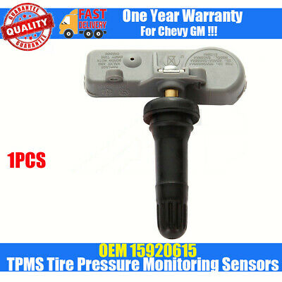 15920615 15922396 TPMS Tire Pressure Monitoring Sensor Set of 1 fit Chevy GM