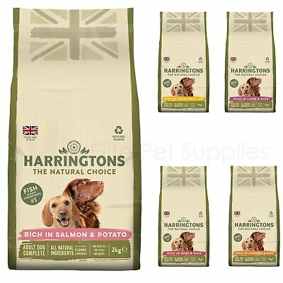 Harringtons Natural Adult Dog Food Dry Lamb, Chicken, Beef and Rice 2kg