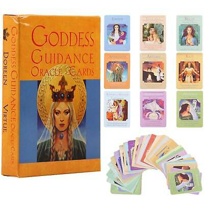 New In Box Goddess Guidance Oracle Cards Read Future English Fate 44 Cards Deck