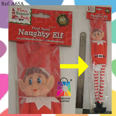 Elf prop Put On The Shelf Ideas Kit Christmas Decoration Joke Christmas Santa ""