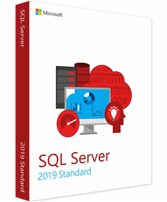 SQL Server 2019 Standard Product Key License MS/ 16 Cores / INSTANT DELIVERY