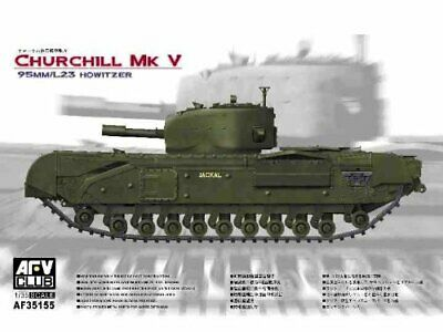1749426-AFV Club Modellino Carro Armato - Churchill MK V -Scala  1:35 AFV35155