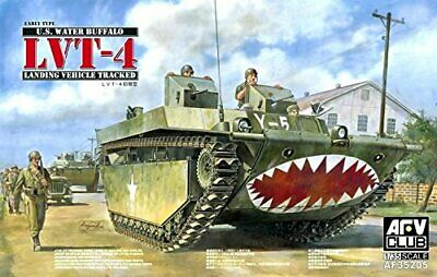 1749426-Afv Club 35205 - Modellino Carro Armato Lvt-4 Water Buffalo Scala 1:35