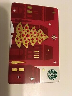 Starbucks Gift Card 2012 Christmas Tree