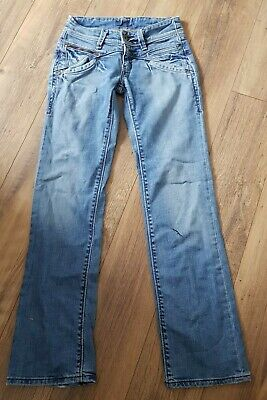 """Levis Low Rise Skinny Jeans Size 26""""w 32""""l Unusual Vintage Quirky Boot cut"""