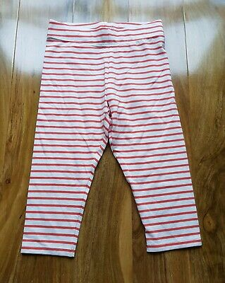 Mini Boden Girls Striped Cropped Leggings Size 9-10 Years. Brand New