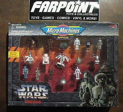 MISB Star Wars Droids Micro Machines Space Set Mint in Sealed Boxed Set Box