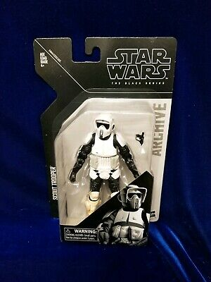 Hasbro Star Wars Black Series Archive Scout Trooper MOC