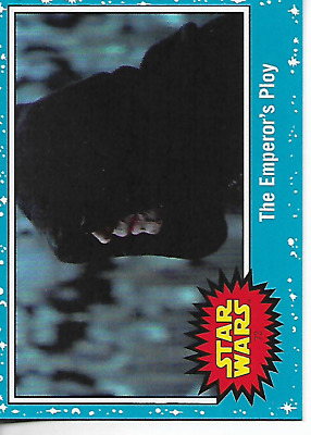 2019 Topps Star Wars Rise Of Skywalker Blue Base #73 The Emperor's Ploy