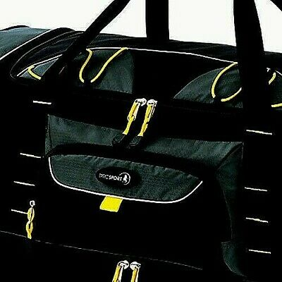 """Travelers Club Jumbo 36"""" 2-Section Rolling Duffel With Blade Wheels Brand NEW"""