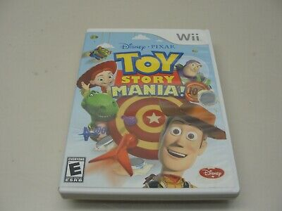 NINTENDO Wii TOY STORY MANIA! COMPLETE VIDEO GAME EXCELLENT CONDITION