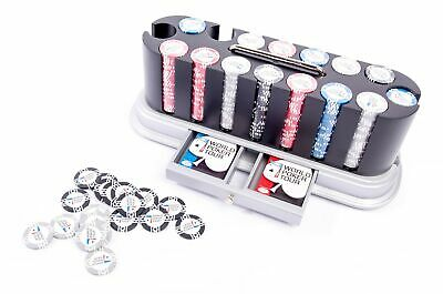 NEW-AUTHENTIC APPAREL WPT 500 Chip Poker Chip Set-FREE SHIPPING