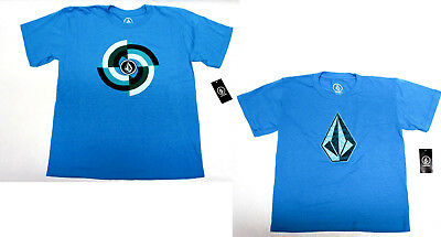 Volcom boys Little boys Toddlers STONE turquoise tee 3T M 5 XL 7 NEW