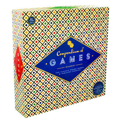 Deluxe Edition Compendium of Classic Games, Toys & Games, Brand New