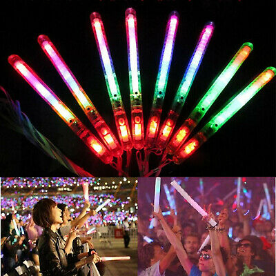 GLOW STICK HAIR BAND WITH 3 GLOW STICKS Party Festival Firework Night Accessory