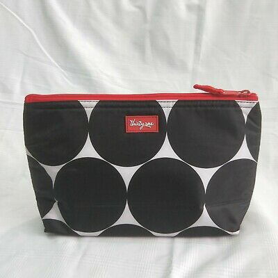New Thirty One Gifts 31 Medium Thermal Zipper Pouch in Big Dot 1-5