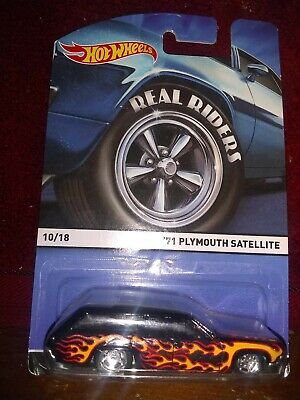 HOT WHEELS HERITAGE REAL RIDERS /'71 PLYMOUTH SATELLITE
