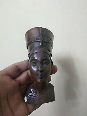 Antique Statue Rare Ancient Egyptian Pharaonic The head of Queen Nefertiti