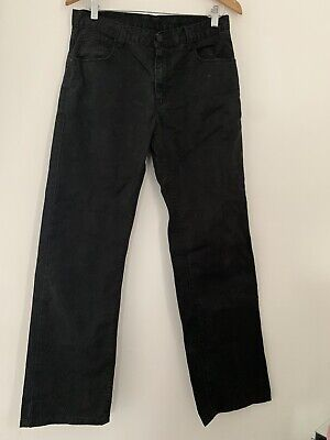 Boys Jeans Flipback 15 Years Black Straight Casual Cotton <JS3980
